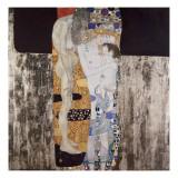 Die drei Lebensalter der Frau Poster von Gustav Klimt