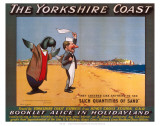The Yorkshire Coast Plakater