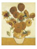 Zonnebloemen Poster van Vincent van Gogh