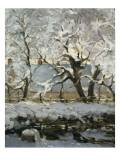 The Magpie Prints by Claude Monet