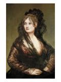 Doña Isabel De Porcel Póster por Francisco de Goya