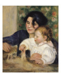 Gabrielle and Jean Prints by Pierre-Auguste Renoir