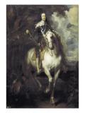 Charles I on Horseback Posters af Sir Anthony Van Dyck