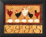 Eggs in a Row Print by Dan Dipaolo