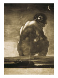 The Colossus Kunst av Francisco de Goya