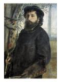 Claude Monet Poster by Pierre-Auguste Renoir