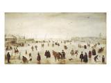 Scene on the Ice Kunstdrucke von Hendrik Avercamp