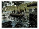 La Grenouillère Giclée-Premiumdruck von Claude Monet