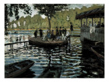 La Grenouillère Prints by Claude Monet
