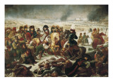 Napoleon on the Battle Field of Eylau, 9th February 1807 Posters by Antoine-Jean Gros