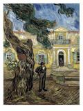 Hospital Saint Paul at Saint-Rémy-De-Provence Poster von Vincent van Gogh