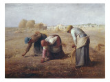 The Gleaners (Des Glaneuses Ou Les Glaneuses) Poster by Jean-François Millet