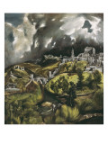 View of Toledo Poster by  El Greco