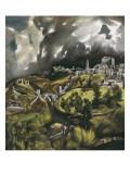 Vista de Toledo Arte por  El Greco