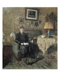 Madame Adrien Bénard Poster von Edouard Vuillard