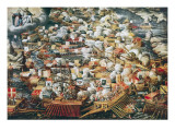 The Battle of Lepanto, 7th October 1571 Posters