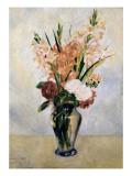 Gladiolus Poster af Pierre-Auguste Renoir
