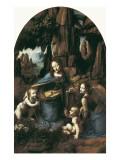 The Virgin of the Rocks Posters by  Leonardo da Vinci