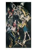 The Adoration of the Shepherds Láminas por  El Greco