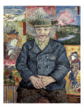 Père Tanguy (Father Tanguy) Plakater av Vincent van Gogh