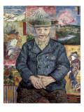 Père Tanguy (Father Tanguy) Julisteet tekijänä Vincent van Gogh
