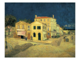 The Yellow House at Arles Poster von Vincent van Gogh