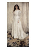 Symphony in White, No Plakater af James Abbott McNeill Whistler