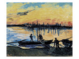The Stevedores in Arles Plakater av Vincent van Gogh