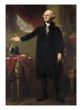 George Washington Plakater af George Peter Alexander Healy
