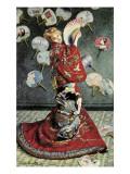 La Japonaise (Camille Monet in Japanese Costume) Posters por Claude Monet
