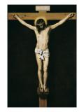 Christ Crucified Kunst af Diego Velazquez