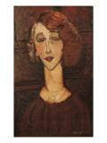 Renée Posters by Amedeo Modigliani