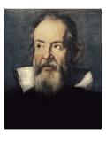 Portrait of Galileo Galilei Prints by Justus Sustermans