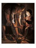 Saint Joseph the Carpenter Prints by Georges de La Tour