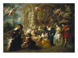 The Garden of Love Prints by Peter Paul Rubens