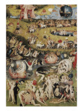 The Garden of Earthly Delights Art par Hieronymus Bosch