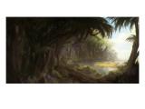 Dschungel Giclée-Premiumdruck von Stephane Belin