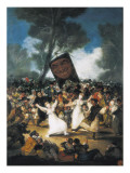 The Burial of the Sardine (Corpus Christi Festival on Ash Wednesday) Posters by Francisco de Goya