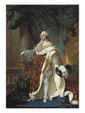 Portrait of Louis XVI Poster par Antoine Francois Callet