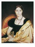 Portrait of Madame Devauçay Kunst von Jean-Auguste-Dominique Ingres