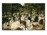 Music in the Tuileries Gardens Kunstdrucke von Edouard Manet
