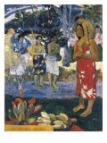 La Orana Maria (Hail Mary) Plakater af Paul Gauguin