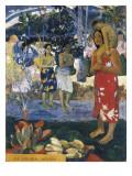 La Orana Maria (Hail Mary) Stampe di Paul Gauguin