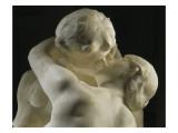 El beso Láminas por Auguste Rodin