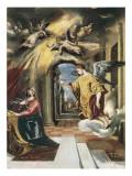 The Annunciation (panel) Póster por  El Greco