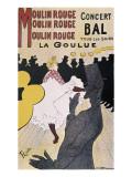 Moulin Rouge: La Goulue Kunstdrucke von Henri de Toulouse-Lautrec