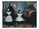 The Bellelli Family (La Famille Bellelli) Posters by Edgar Degas