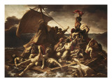 The Raft of the Medusa Art by Théodore Géricault