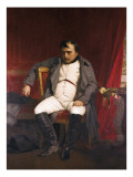 Napoleon after His Abdication Poster par Hippolyte Delaroche