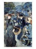 The Umbrellas Art by Pierre-Auguste Renoir